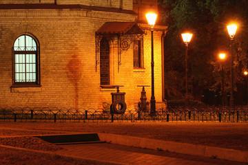 Mariinsky park at night