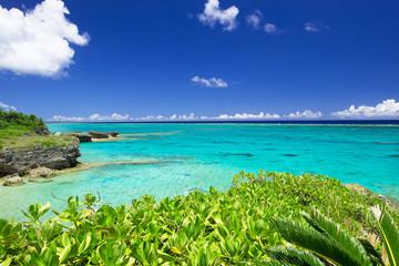 沖縄の海・長浜ビーチ