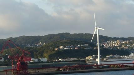 風力発電の風車_1