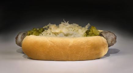 Grilled Bratwurst.
