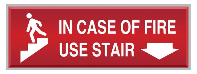 PrintFire security Sign