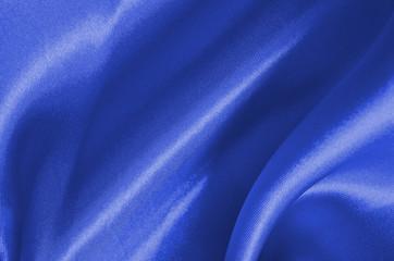 Texture blue satin, silk background