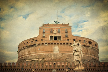 Castle of the Holy Angel - Rome Italy