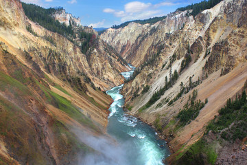 Yellowstone - Grand Canyon / Yellowstone River
