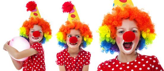 little happy clown