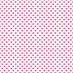 heart seamless pattern background. vector illustration.