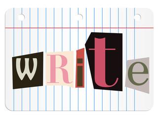 write anonyme