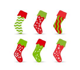 set of winter socks for design