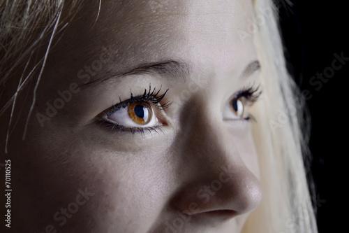 canvas print picture schöne Augen