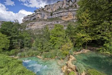 Ebro river canyons.Burgos, Spain.
