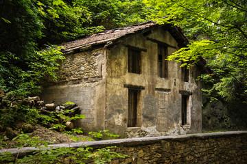 casa rifugio di montagna