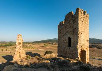 Ruinas del Castillo de Pradas. Teruel. España