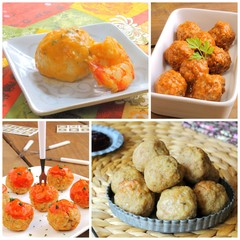 Meatballs recipes collage
