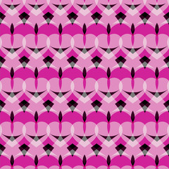 Heart pattern, vector