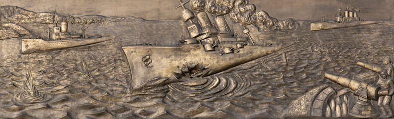 Çanakkale Deniz Savaşı Rölyef