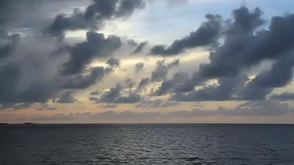 Florida Keys Ocean View Time Lapse
