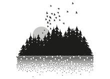 Mond, Wald und See