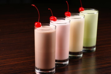 milkshake cocktails