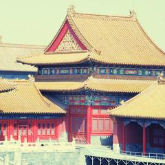 Forbidden City , Beijing, China, instagram effect