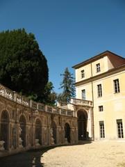 Villa della Regina (Torino) - cortile interno