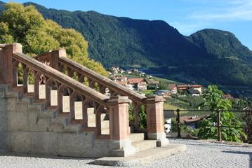 Treppe in Schenna
