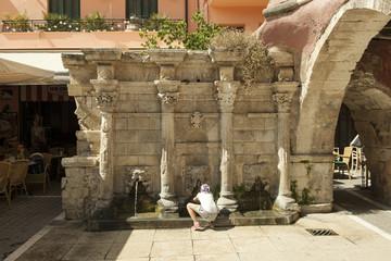Rimondi-Brunnen in Rethymnon, Kreta
