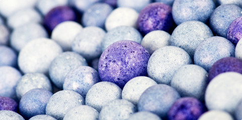 Color beads background