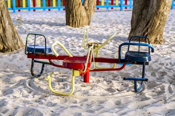 rotary swing in playground