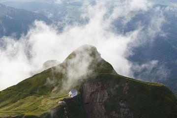 Chapel on mountain top