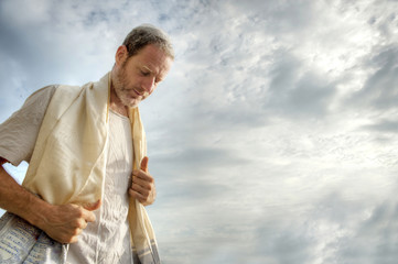 Jewish morning prayer