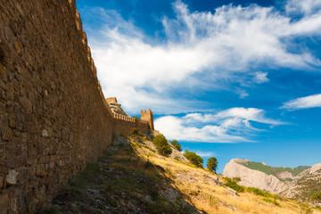 Crimea Genoese fortress