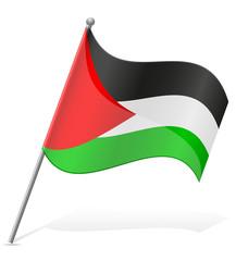 flag of Palestine vector illustration