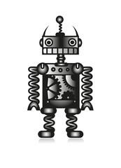 Roboter älteres Model