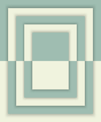 Geometric rectangles background with drop shadows