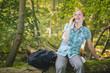 Hiking Trip Phone Call