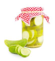 Cucumber glass