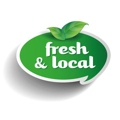 Fresh and local product