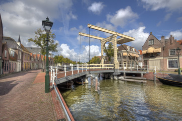 Drawbridge in Alkmaar, Holland