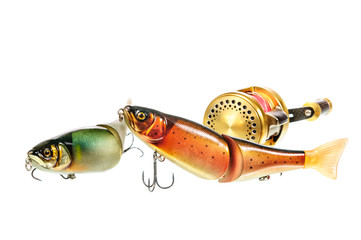 Bright colour fishing lure