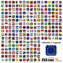 World Flags Collection - All Sovereign States Set - Ios Icons