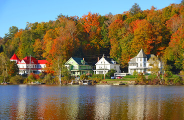 Fall foliage in the Adirondacks New York