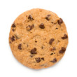 Chocolate Chip Cookie on White - 70124780