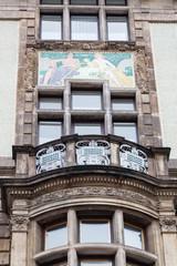 Jugendstilfassade in Prag