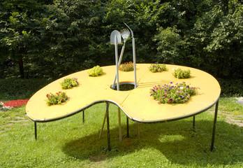 Original flower bed