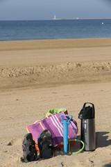 Objetos de playa