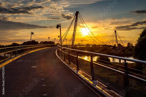 Herrenkrugparkbrücke Sommer 2014 - 70125315