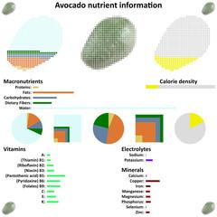 Avocado nutrient information