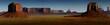 Leinwanddruck Bild - panorama Monument Valley