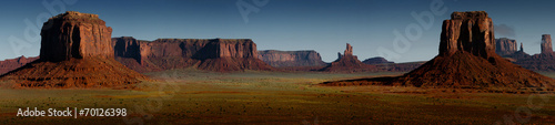 panorama Monument Valley - 70126398