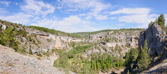 Rio Lobos canyon panoramic